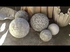 Beton giessen - DIY - Betonkugel im Ball - verbesserte Methode mit euren Tips - YouTube