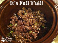 Crock-Pot Apple Crumble {Sugar & Gluten Free} - The Humbled Homemaker