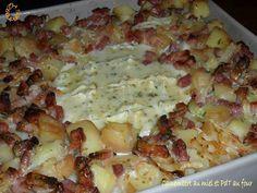 Camembert au miel et pommes de terre au four