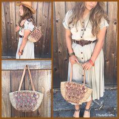 Beautiful Vtg Wicker Basket Purse with Leather Strap Small Wicker Shoulder bag    eBay