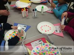 100th Day of School: Math Centres