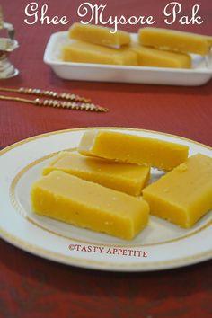 MYSORE PAK RECIPE / HAPPY MOTHERS DAY / GHEE MYSORE PAK RECIPE / EASY DIWALI SWEETS   Tasty Appetite
