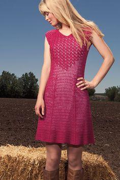 #crochet Rockin' Red Dress $pattern from Interweave Crochet, Fall 2012