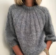 Rowan Knitting, Sweater Knitting Patterns, Raglan Pullover, Chunky Knitwear, Icelandic Sweaters, Quick Knits, Damen Sweatshirts, Knit Crochet, Sweaters For Women