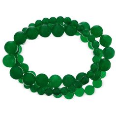 Stretch Bracelet Graduated Green Agate Stretch Bracelet (252 ct. t.w.) ($31) ❤ liked on Polyvore featuring jewelry, bracelets, green, accessories, multicolor jewelry, multi colored jewelry, stretch jewelry, tri color bangles and tri color jewelry