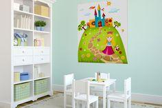 Plakat w pokoju dziecięcym - http://mural24.pl/dla-dzieci/  #fototapeta #fototapety #aranżacja #dziecko #plakaty