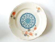 SALE Spirograph plate by Ninainvorm on Etsy, €29.00