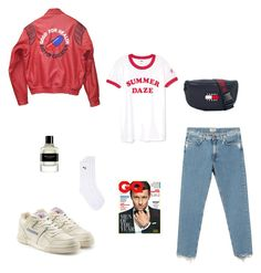 """Untitled #47"" by rayensulistiawan on Polyvore featuring Akira, Acne Studios, Reebok, Tommy Hilfiger, Givenchy, Topman, men's fashion and menswear"