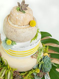 Can you tell what this wedding cake is REALLY made from?