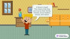 Scout Law: Trustworthy Loyal Helpful