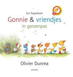 Met het flapjesboek van Gonnie en Gijsje leren kinderen tellen, kleuren, tegenstellingen etc. Baby en Peuter (0-3)