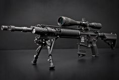 Mk12 Mod1 - long range semi-automatic sniper rifle used by US army Special Forces and SEAL teams in Iraq and Afghanistan. Description from pinterest.com. I searched for this on bing.com/images