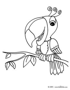 Roseate Spoonbill Coloring Page sample Watercolor Pinterest Bird