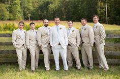 gents in khaki and linen | Katherine Miles Jones #wedding