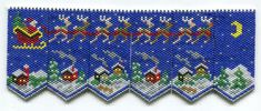 Judith Flavel uploaded this image to 'Beading'. See the album on Photobucket. Peyote Patterns, Loom Patterns, Beading Patterns, Beaded Ornament Covers, Beaded Banners, Beads Pictures, Beaded Christmas Ornaments, Beaded Crafts, Beading Projects