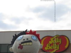 Zombie really liked Jelly Belly. Almost as good as brains.