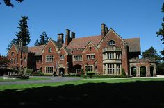 Thornewood Castle - One of the few real castles in America, located in Lakewood, WA