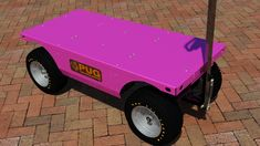 Order your cart in what ever color suits you and your business, Check out website. Don't LUG it, if you can PUG it! Electric Utility, Electric Motor, Truck Boxes, Pugs, Pallet, Cart, Deck, Platform, Trucks