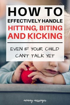 Is your child's behavior becoming a problem? Find out how to effectively manage toddler behavior problems such as hitting, biting, and kicking. Disciplining your kids doesn't have to be complicated! Parenting Toddlers, Good Parenting, Parenting Hacks, Parenting Classes, Parenting Quotes, Parenting Plan, Peaceful Parenting, Parenting Styles, Parenting Websites