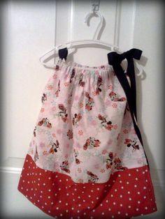 Minnie Mouse Pillowcase Dress with matching purse by jackiedye $24.00 & Pin by Kristen Murphy on Shirts   Pinterest   Craft pillowsntoast.com