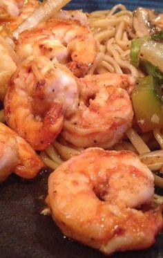This shrimp recipe belongs to Japanese cuisine.Very tasty!