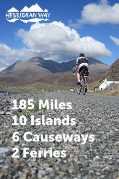 Hebridean Way Cycling Route - Outer Hebrides