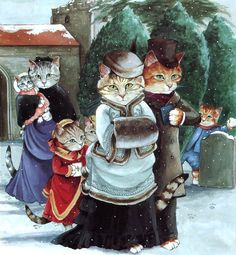 Victorian Cat Art | Susan Herbert | cat art 2
