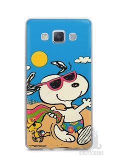 Capa Capinha Samsung A7 2015 Snoopy #1 - SmartCases - Acessórios para celulares e tablets :)