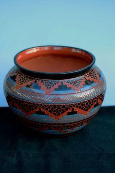 Navajo Incised Pottery   Native American Pottery   Navajo Pottery