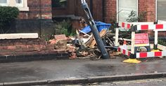 In pictures: The aftermath of the London Road fatal police chase crash - Derby Telegraph