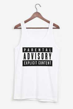 Parental Advisory from rad.co this shirt, jean shorts, a black beanie, and some black chucks=perfection for the pot of gold concert