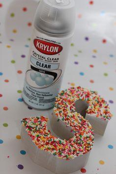 Sprinkles Letters Tutorial / Bridgey Widgey