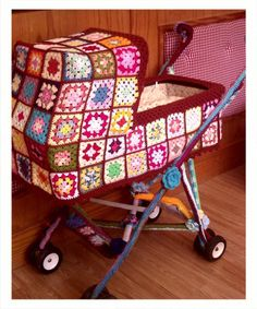 Granny Square~Chic Baby Carriage: Sweet Inspiration!
