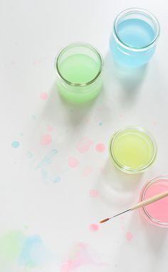 wasserfarben sorbetfarben wunderschön-gemacht