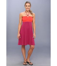 Slip into something freeing and light.. Halter-style dress provides a standard fit that comfortabl...