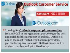 We are Offering Outlook Technical Support Number 21 234 0006 Ireland to fix all the email related issues like password recovery, account recovery, email recovery, etc. So just make us a call at given number and get fixed issues today. Account Recovery, Email Service Provider, Accounting, Ireland, How To Get, Number, Youtube, Irish, Youtubers