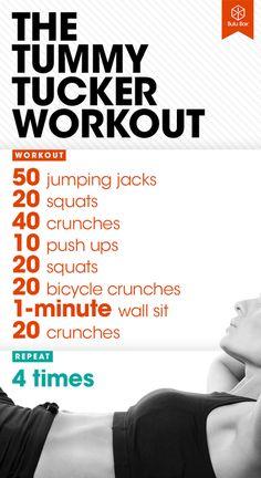 The Tummy Tucker Workout | BuluBox.com