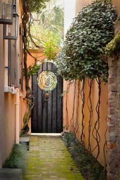 Alleyway Gate, Charleston, SC  © Doug Hickok  All Rights Reserved  Doug's Photo Blog #charleston