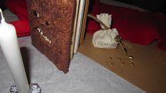 """je les appelle ..""""mes petits bricolages"""": Table Halloween déco Harry Potter"""