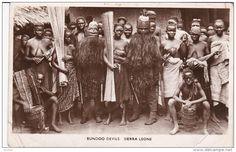 RP: Bundoo Devils , SIERRA LEONE , 00-10s Item number: 257214100  - Delcampe.com