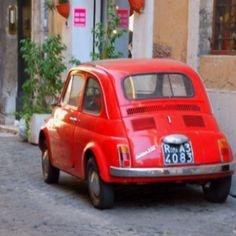 Vintage Fiat 300 in roma