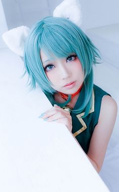 Sugoi Cosplay's added a new photo — with Jason Von Bielefeld. Cosplay Outfits, Cosplay Wigs, Cosplay Costumes, Vocaloid Cosplay, Kawaii Cosplay, Amazing Cosplay, Best Cosplay, Pictures Of Lily, Asian Cosplay