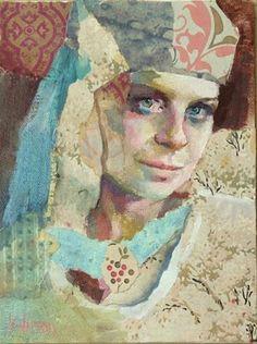 "Daily Paintworks - ""Head Wrap"" - Original Fine Art for Sale - © Katie Wilson"