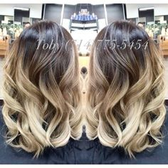 Asian ombré Balayage, gold beige with zero brassiness. | Yelp