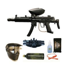 Empire BT Delta Elite Egrip Paintball Gun 4+1 BC Mega Set