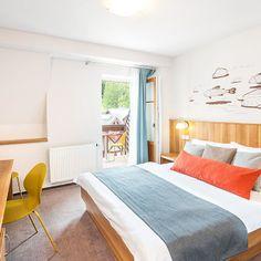 Postel v hotelovém pokoji - Hotel Grand ve Špindlerově Mlýně