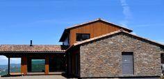 La cuarta casa pasiva certificada Passivhaus, revestida con STONEPANEL®   #piedranatural #cupastone #fachada #arquitectura
