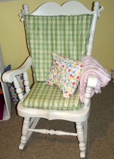 Morning By Morning Productions: Rocking Chair Cushion