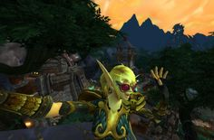 dancing #selfie above Lion's Watch. I was curious to see what the Alliance were up to, urns out nothing much#Warcraft