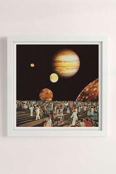 Mariano Peccinetti Planetarium Print - Urban Outfitters